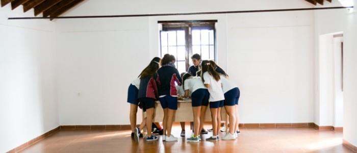 Alumnos de Educación Secundaria en San Juan de la Rambla.