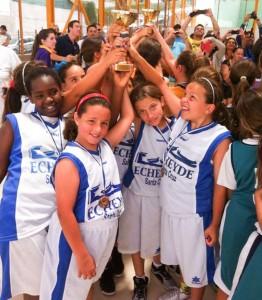 Tercera plaza para el baloncesto femenino