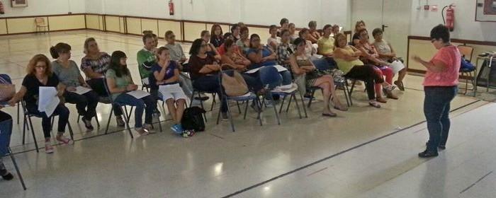 La Asociación para la Diabetes asesora al profesorado del centro