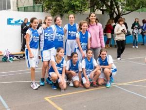 Equipo infantil femenino, primer año.