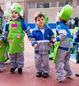 actuación infantil carnaval 2015