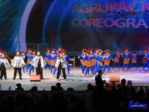 Un momento de la actuación durante el Festival Coreográfico.