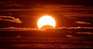 Un eclipse de sol