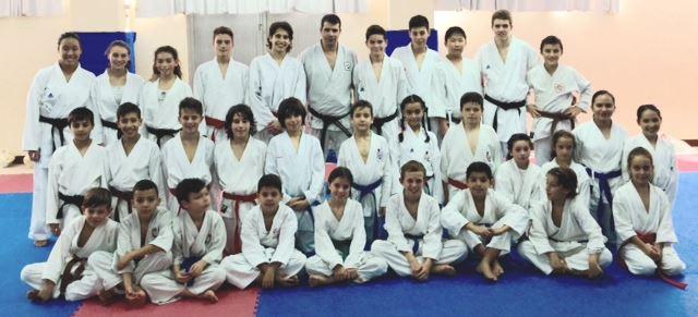 Entrenamiento regional de karate