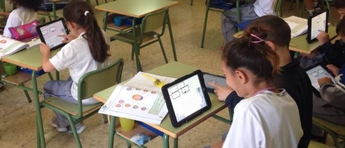 Tablet como recurso educativo de los colegios privados concertados Echeyde