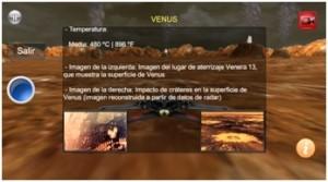 Captura de pantalla del juego Conquista del Espacio 3D