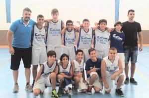 Equipo Infantil basket 2015