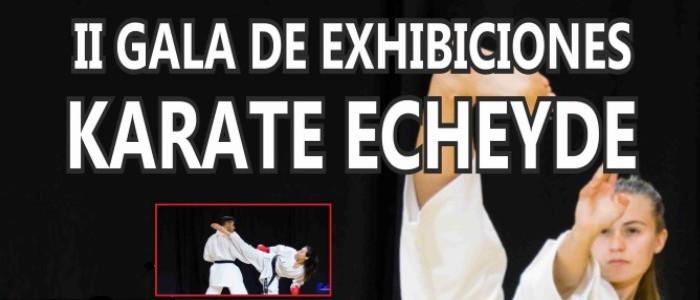 Gala Exhibición Karate Echeyde