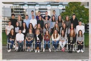 Alumnado del centro francés