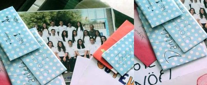 Proyecto Educativo de Intercambio de cartas