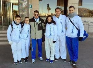 Equipo participante en el Campeonato Internacional Collado Villalba 2015