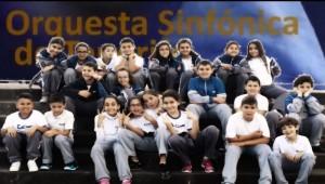 """Alumnado de quinto de primaria en """"El Sombrero Embrujado"""""""