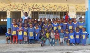 Guarderia que acoge a 150 niños entre 4 y 6 años, en el Valle de Angar Guten(Andode)