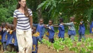 Alumnado del Valle de Angar (Etiopía)