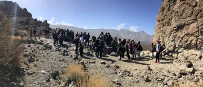 Aprender en El Teide