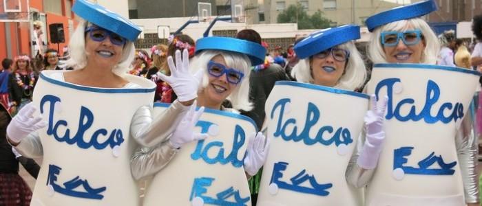 Carnaval en el Colegio Echeyde