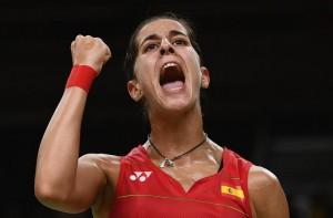 Carolina Marín. Oro olímpico bádminto.