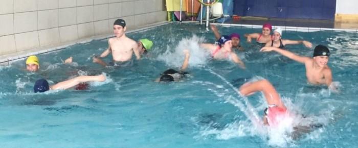 Jornada de actividades acuáticas