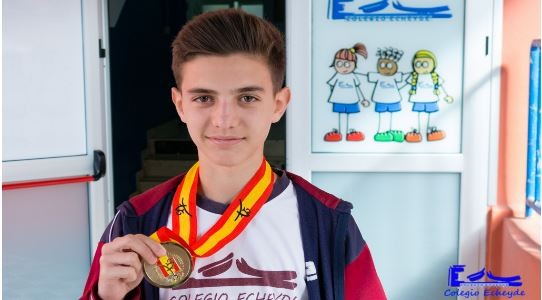 Kilian Darias, campeón de España de Taekwondo