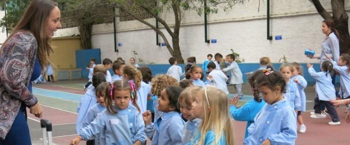 Expresión corporal en la conmemoración del Día Internacional de la Danza