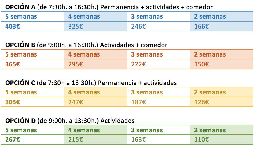 Precios_Campamento_verano_Echeyde