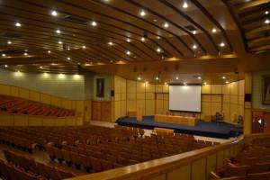 Salón de actos de la Facultad de Información de la ULL