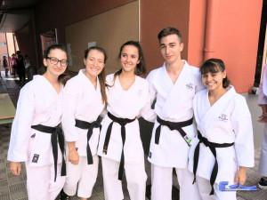 Participantes del Club de Karate Echeyde