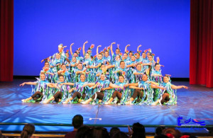 Escenario para actuación del programa Disney Performing Arts.